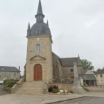 clocher-de-l'eglise-de-quedillac-apres-restauration-travaux-suivi-par-atelier-44